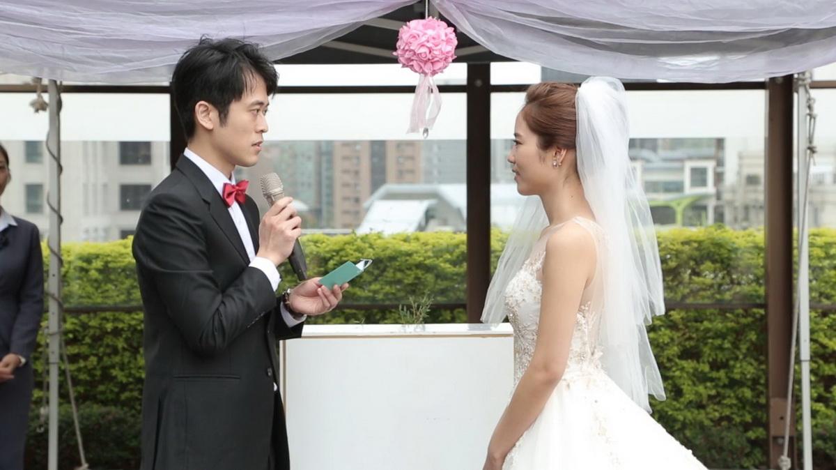 戶外證婚,交換誓詞,婚禮錄影,婚錄,婚禮影片