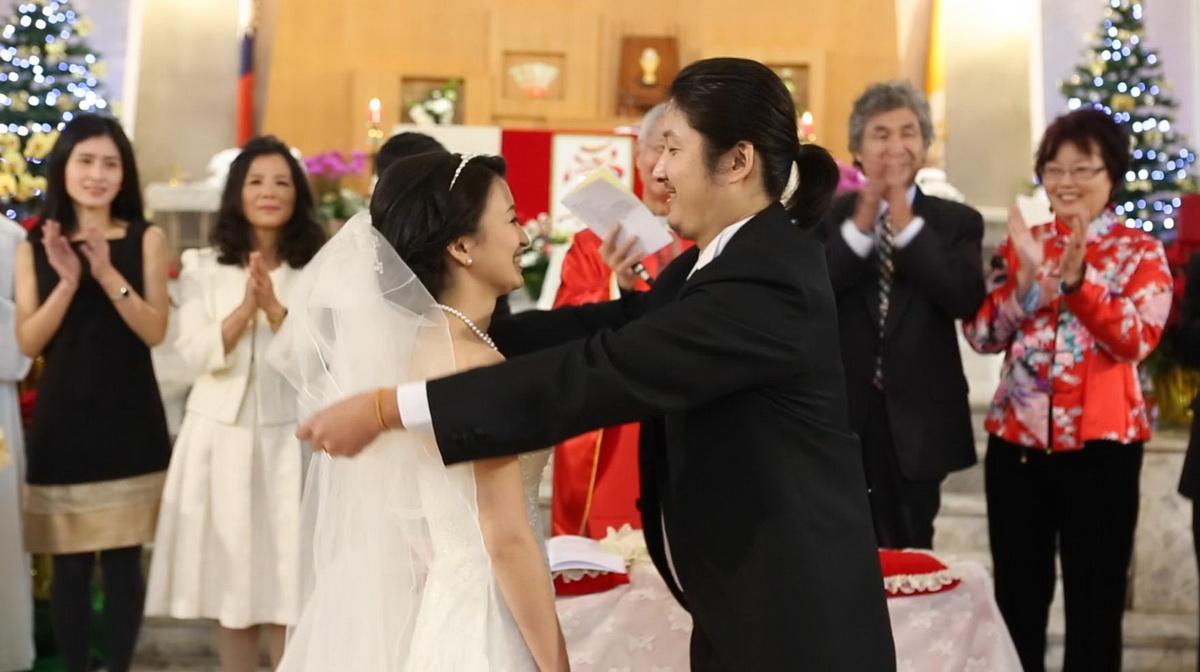 教會儀式,證婚,掀頭紗,婚錄,婚錄推薦